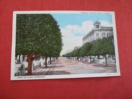 Habana Paseo De Marti O Prado  Has Stamp & Cancel  Ref 2861 - Cuba