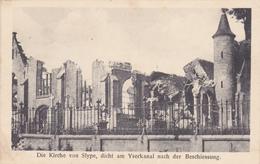 Slype : Die Kirche - Feldpost - Middelkerke