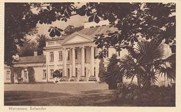 POLAND - Warszawa 1930's - Belweder - Pologne