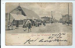Gruss Aus WESTERLAND - Strandstrasse - 1900 - Sylt