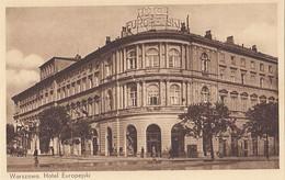 POLAND - Warszawa 1930's - Hotel Europejski - Swastika Flag - Pologne
