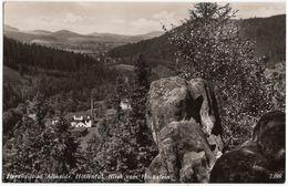 Bad Altheide, Höllental, Blick Vom Hochstein, Alte Foto Postkarte 1940 - Polen