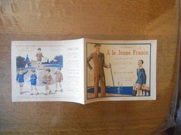 ORLEANS A LA JEUNE FRANCE 45 RUE CHARLES-NODIER VÊTEMENTS DEPLIANT PUBLICITAIRE 1928 PRINTEMPS ETE - Publicités