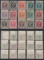 N615.-. FERNANDO POO 1905 - SC#: 136-150 - MH - KING ALFONSO XIII - SCV: US$ 204.00 - Fernando Po