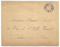 CM 31  Correspondance Militaire De Décembre 14 Cachet Trésor Et Postes Double Cercle N°(SP)5 QG De La 4ème Armée - Marcofilie (Brieven)