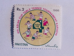 PAKISTAN 1986   LOT# 12  Table Tennis - Pakistan