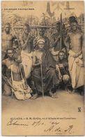 CPA Dahomey Ethnic Type Le Roi D'Allada Gi Gia Circulé - Dahomey