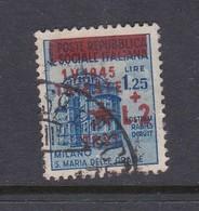 Venezia Giulia And Istria 1945 Yugoslav Trieste Occupation S6 2 Lire On 1.25 Lira Blue Used - Yugoslavian Occ.: Trieste