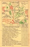 BRUXELLES - EXPOSITION 1935 - Liste Des Tramways Conduisant Tous Les Jours à L'Exposition - Universal Exhibitions