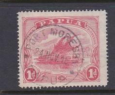 Papua SG 85 1911-15 Lakatoi One Penny Rose-pink Used - Papua New Guinea