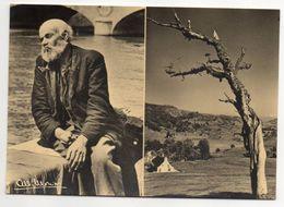 Photographe  Albert MONIER-- L'Homme Seul  (2 Vues)-homme Sur Bords De Seine -- Arbre Mort - Monier