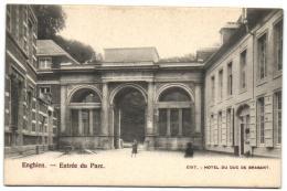 Enghien - Entrée Du Parc (Edit Hôtel Du Duc De Brabant) - Edingen