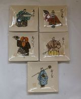5 Small Japanese Ceramic Dishes - Ceramics & Pottery