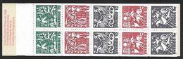 Sweden - 1981 5Kr Stamp Booklet - Ancient Nordic Mythology Se Tenant MNH - 1981-..