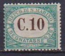 SAN MARINO    1897-1919     SEGNATASSE       SASS. 2   MLH VF - Segnatasse