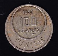 TUNISIE KM 276 1950  100fr.  (7P12) - Túnez
