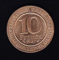 FRANCE  1987 KM 961d, 10fr, ROI CAPET.  (7P22) - France
