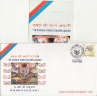 India  2006   Eagle  Cancellation  Medium Regiment  Special Cover #  07450   D  Inde Indien - Eagles & Birds Of Prey