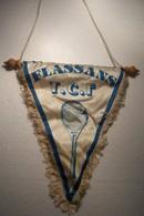 FLASSANS-SUR-ISSOLE   - TENNIS  ( T.C.F. ) - FANION - Kleding, Souvenirs & Andere
