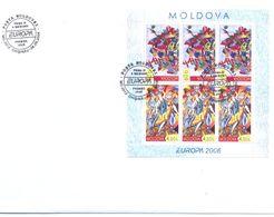 2006. Moldova, Europa 2006, FDC With Booklet-pane,  Mint/** - Moldova