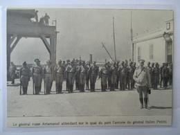 1916 - Front Occidental - Le Général Russe Leonid Konstantinovich Artamonov - Coupure De Presse Originale (Encart Photo) - Documents Historiques