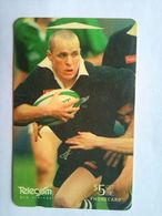 491BO Christian Cullen All Blacks - New Zealand