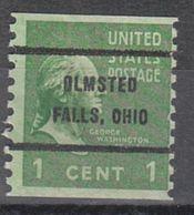 USA Precancel Vorausentwertung Preo, Bureau Ohio, Olmstead Falls 839-62 - Vereinigte Staaten