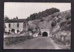 CPSM 30 - ALZON - Le Tunnel - TB PLAN Route Avec TB Habitation à Gauche 1957 - Altri Comuni