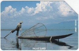 MYANMAR A-005 Magnetic MPT - Landscape, Lake - Used - Myanmar