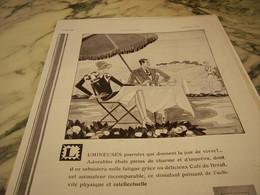 ANCIENNE PUBLICITE LUMINEUSES JOURNEES LE CAFE DU BRESIL  1930 - Posters