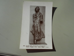 MAINE ET LOIRE ANGERS MUSEE DES ANTIQUITES NATIONALES FEMME DRAPEE BRONZE ARENES D'ANGERS - Angers