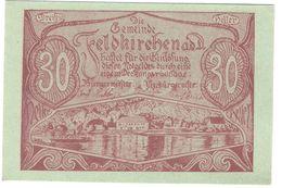 Österreich Austria Notgeld 30 HELLER FS197 FELDKIRCHEN /182M/ - Austria