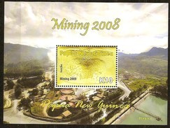 Papouasie Papua New Guinea 2008 Yvert  Bloc 53 *** MNH Cote 11 Euro Mining - Papouasie-Nouvelle-Guinée