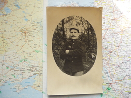 Portrait Du Soldat Besancon Gaston Du 160-e Régiment D'infanterie - Guerra 1914-18