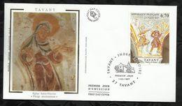 FRESQUES DE TAVANT . 01 MARS 1997 . TAVANT . - 1990-1999