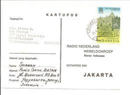 Indonesia.Prangko 811 Single. Borobudur-Unesco - Indonésie