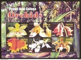 Papouasie Papua New Guinea 2004 Yvert 987-992 *** MNH Cote 12,00 Euro Flore Orchidées - Papouasie-Nouvelle-Guinée