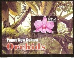 Papouasie Papua New Guinea 2004 Yvert Bloc 28 *** MNH Cote 8,00 Euro Flore Orchidées - Papua-Neuguinea