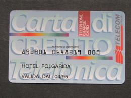 ITALIA 4019A C&C - CARTA DI CREDITO TELECOM - USATA - Italia