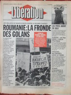 Libération 30 Avril-1er Mai 1990 - Roumanie - Mutineries Nord - SOS Racisme - Bernard Moninot - 1950 - Oggi