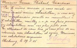 Suisse - BURGDORF - Oberburg - Année 1905  - Entiers Postaux - Entiers Postaux