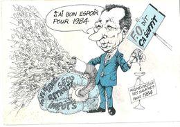 F.O.   DIT  CA SUFFIT  J, Ai Bon Espoir  Pour 1984 - Syndicats