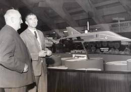 Toulouse Salon De L'Aeronautique Breguet Jaguar Vieille Tige Malecaze Gesberger Ancienne Photo 1967 - Aviation