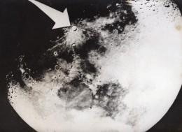 La Lune Cratere Copernicus Sonde Spatiale Ranger 7 Ancienne Photo De Presse 1964 - Aviation
