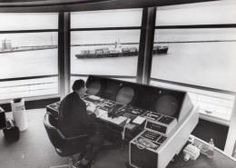 Le Havre Interieur Du Semaphore Moderne Ancienne Photo De Presse 1973 - Boats