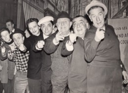 France Marseille Acteur Rellys Au Cours D'une Repetition Theatre Ancienne Photo 1960 - Famous People