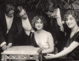 Italie Actrice Cinema Muet Pina Menichelli Ancienne Photo De Presse Vers 1970 - Famous People