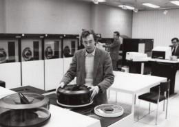 Journaliste Laurent Broomhead Centre De Calcul CII Honeywell-Bull Ancienne Photo De Presse 1981 - Célébrités
