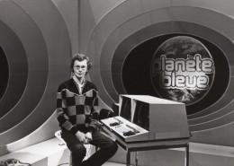 Journaliste Laurent Broomhead Emission Planete Bleue Ancienne Photo De Presse 1983 - Famous People