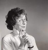 Journaliste Laurent Broomhead Deguise En Femme Ancienne Photo 1980's - Famous People